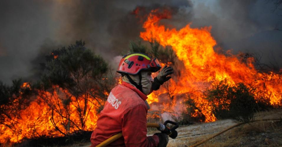 Incêndio em Vila Verde dos Francos