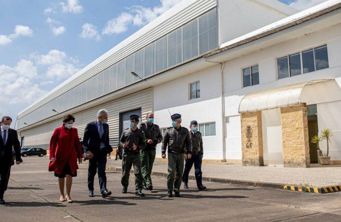 Covid-19: migrantes provenientes de hostel de Lisboa estão na Base Aérea da Ota