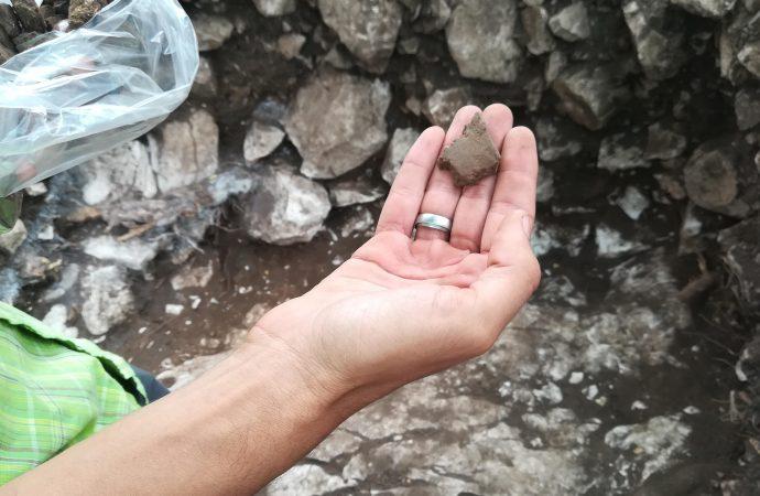 Jovens voluntários descobrem artefactos pré-históricos na Ota