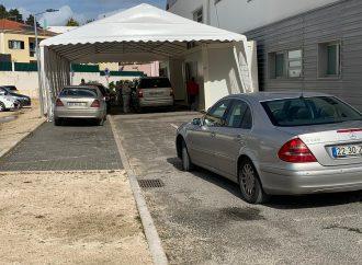 Drive-In Covid-19 de Alenquer com constrangimentos