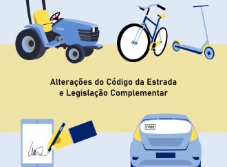 Alterações ao Código da Estrada entraram hoje em vigor