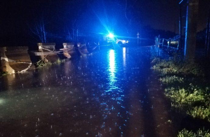 Ponte da Bemposta encerrada devido ao mau tempo