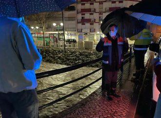 Presidente da Câmara acompanha evolução da tempestade em Alenquer