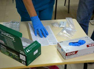 Alunos da UTI submetidos a testes à covid-19