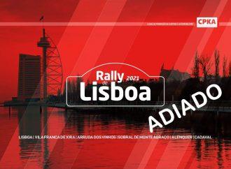 Rally de Lisboa adiado para outubro