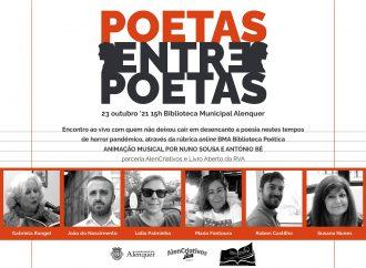 """Biblioteca de Alenquer organiza encontro """"Poetas entre Poetas"""""""